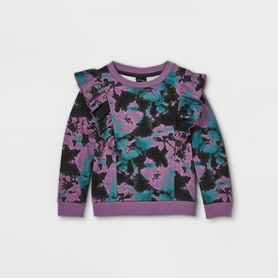 Toddler Girls' Ruffle Sweatshirt - art class™