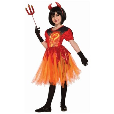 Kidsu0027 Devil Little Flame Halloween Costume