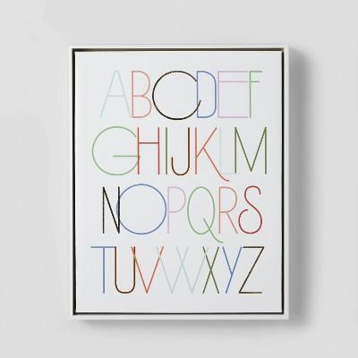 Alphabet Wall Art - Pillowfort™