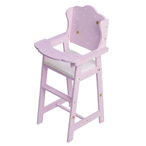 Olivia S Little World Le Stars Princess Baby Doll High Chair