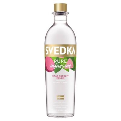 SVEDKA Pure Infusions Dragonfruit Melon Flavored Vodka - 750ml Bottle