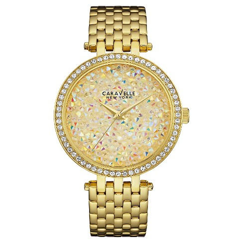 Caravelle New York by Bulova Women's Gold-Tone Stainless Steel Bracelet Watch - 44L184 - image 1 of 1