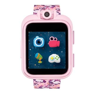 iTouch Playzoom Kids Smartwatch - Pink Unicorn Print Strap