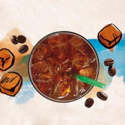 How to make starbucks via instant sweetened iced coffee