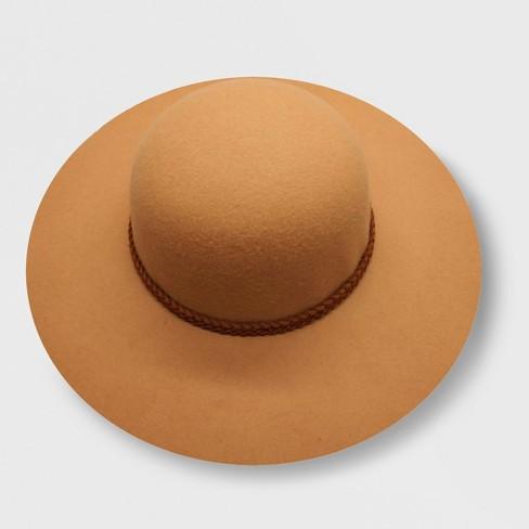 8958070b6bd Genuine Kids® From OshKosh Toddler Girls  Faux Felt Floppy Hat - Tan 2T-5T    Target