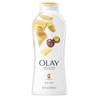 Olay Ultra Moisture Body Wash With Shea Butter : Target