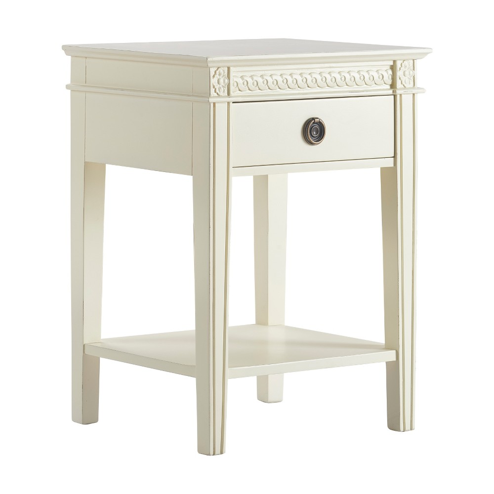 Westport Side Table Antique White - Finch