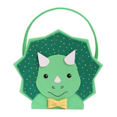 Felt Easter Basket Triceratops Dino - Spritz™