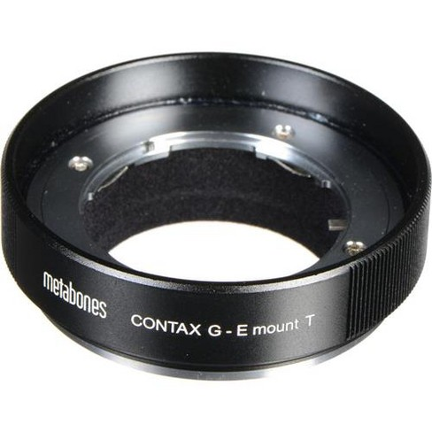 Metabones Contax G Lens to Sony E-Mount Camera T Adapter, Black - image 1 of 1