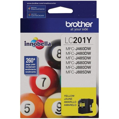 Brother LC201Y Innobella Ink Yellow