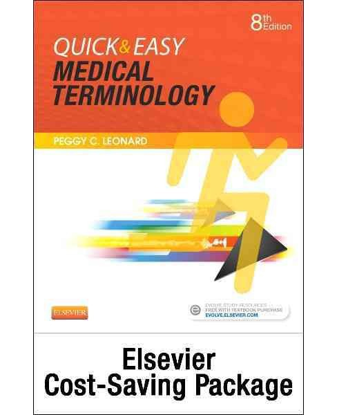 Quick & Easy Medical Terminology : Text and Elsevier Adaptive Learning Package (Paperback) (Peggy C. - image 1 of 1