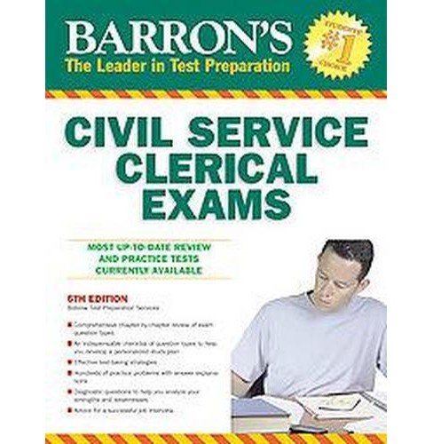 Barron's Civil Service Clerical Exams (Paperback) (Jerry Bobrow & Ph.D. William Covino & Peter Z. Orton) - image 1 of 1