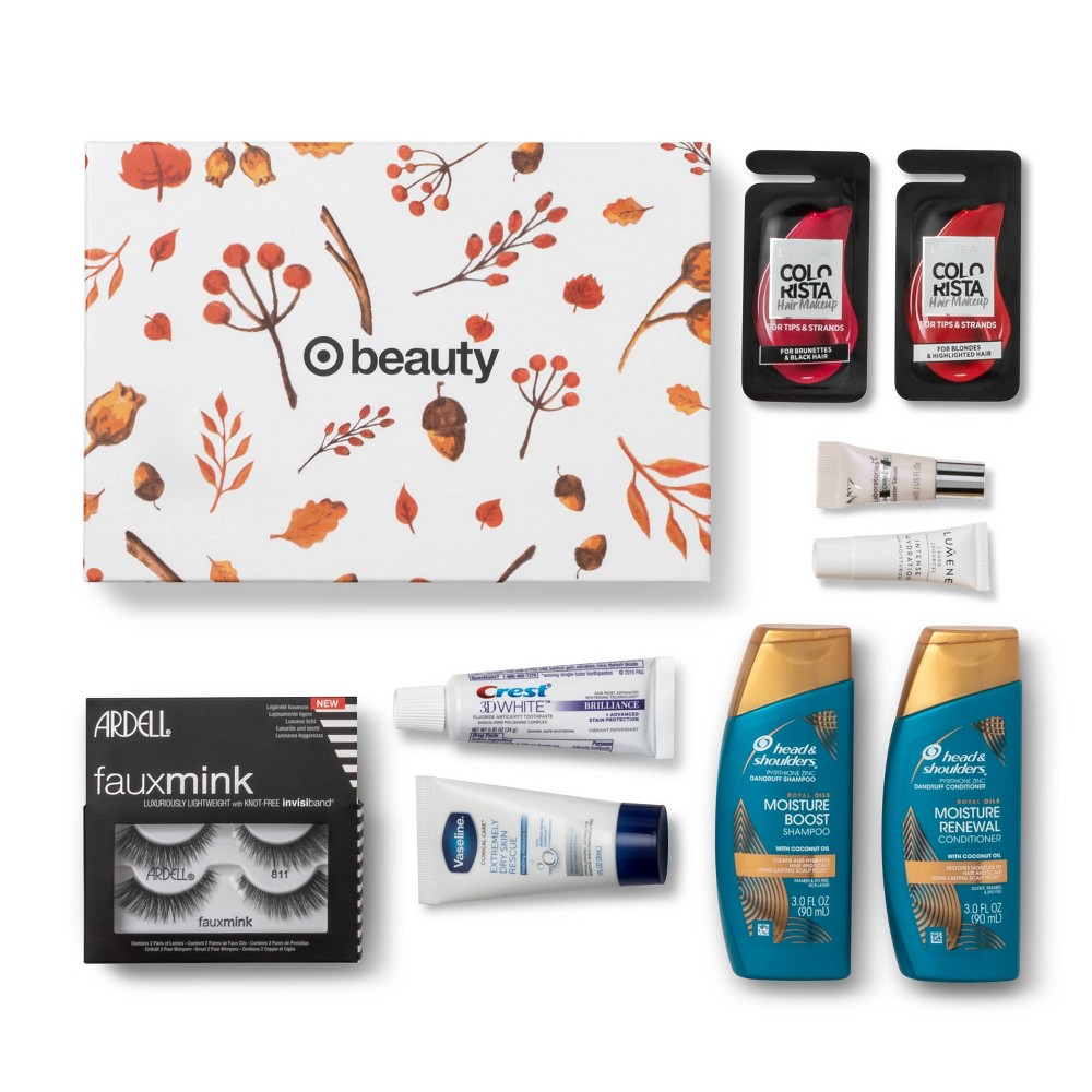 Image of Target Beauty Box - October