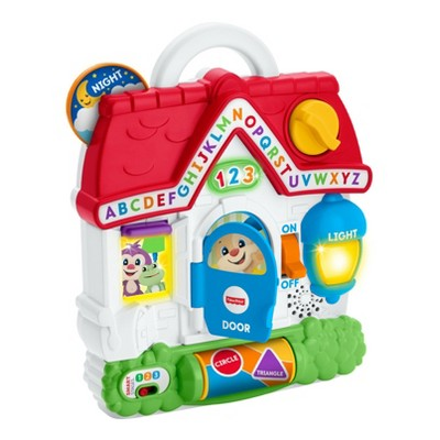 Fisher-Price Laugh and Learn Puppy's Busy Activity Home