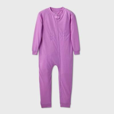 Toddler Adaptive Pajama Jumpsuit - Cat & Jack™ Purple