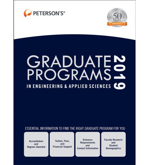Graduate Programs in Engineering & Applied Sciences, 2019 -   Book 5 (Hardcover) - image 1 of 1