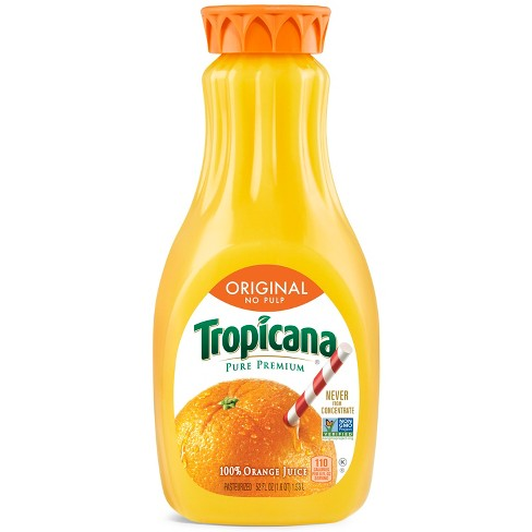 Tropicana Pure Premium No Pulp Orange Juice - 52 fl oz - image 1 of 3