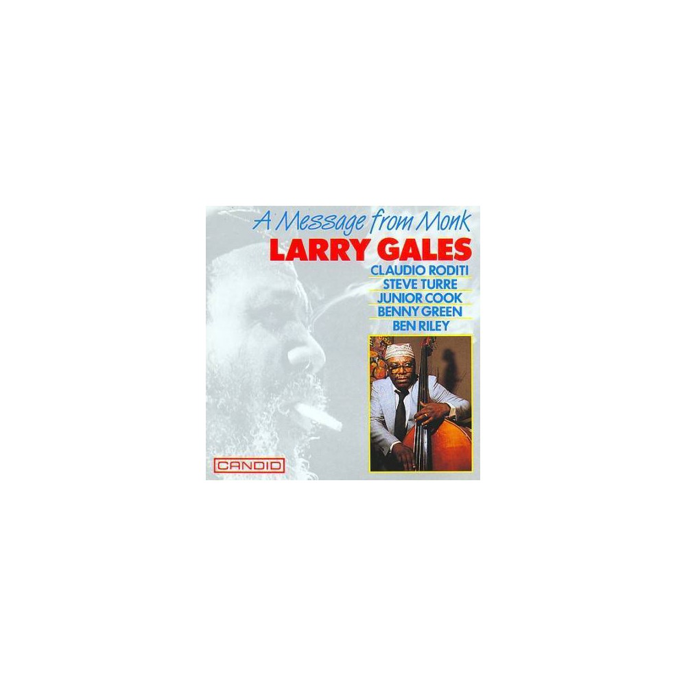 Larry Gales - Message From Monk (CD)
