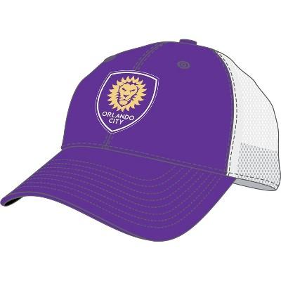 MLS Orlando City SC Men's Mesh Trucker Snapback Hat