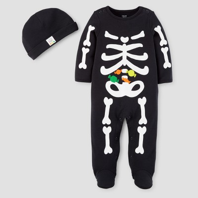 Baby Boys' Skeleton Sleep N' Play - Just One You™ Made by Carter's® Black NB