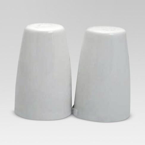 Porcelain Salt And Pepper Shakers White Threshold
