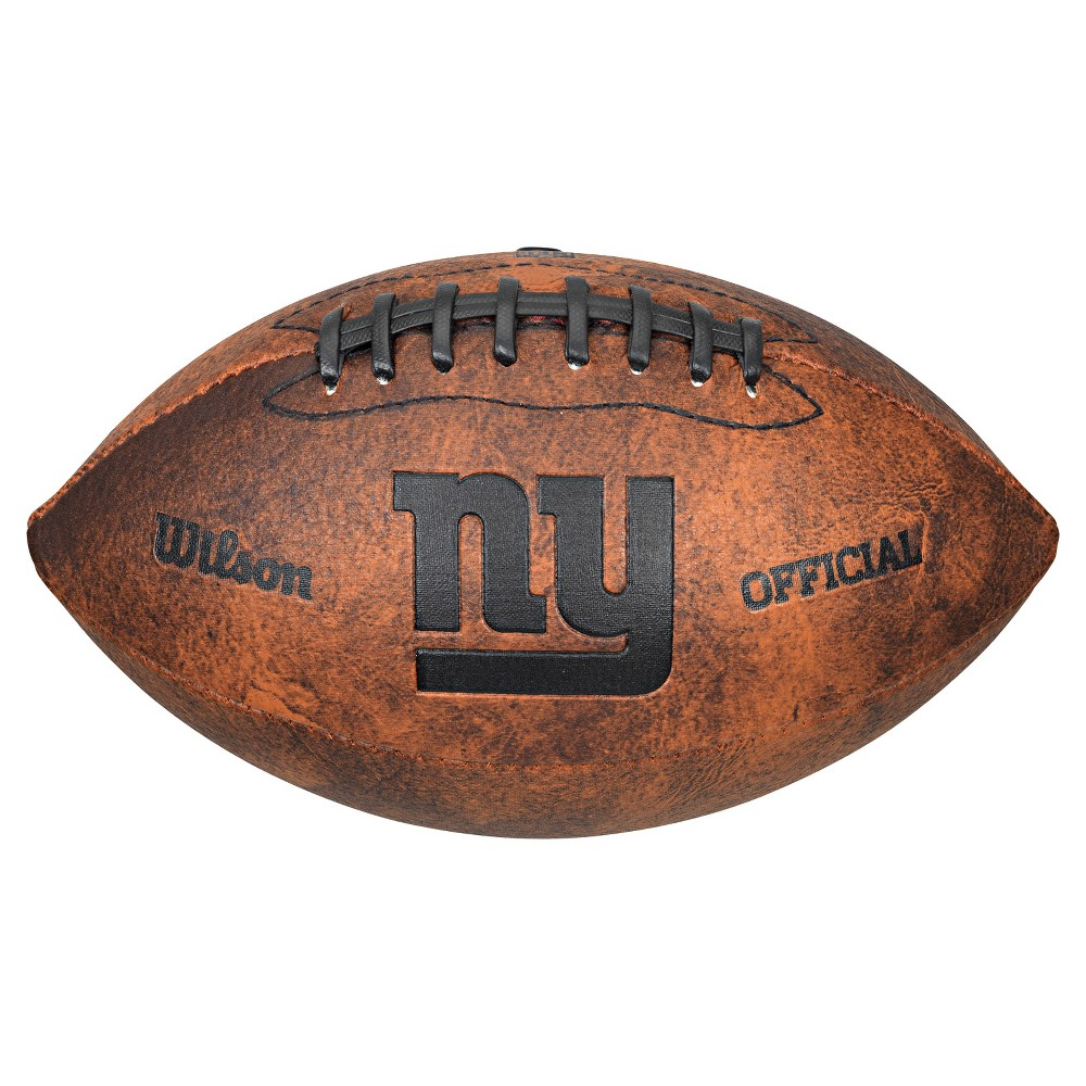 New York Giants Wilson 9 Inch Throwback Football