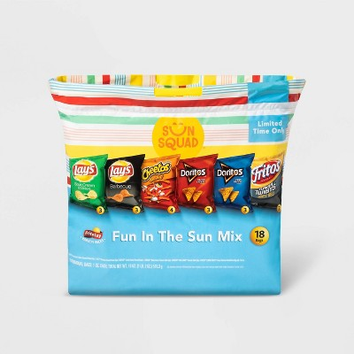 Frito Lay Fun In The Sun Chip Variety Pack   18ct by Lay Fun In The Sun Chip Variety Pack