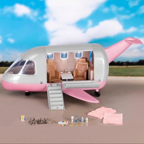 Lori Luxury Jet for 6' Mini Dolls - image 1 of 4