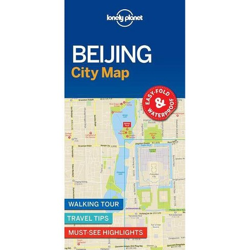 Lonely Planet Beijing City Map - (Sheet Map, Folded) - image 1 of 1