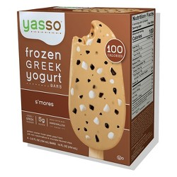 Yasso Frozen Greek Yogurt - S'mores Bars - 4ct