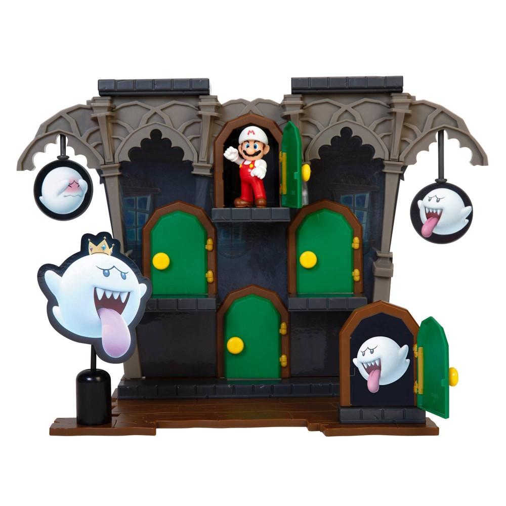 Nintendo Deluxe Boo Mansion Playset