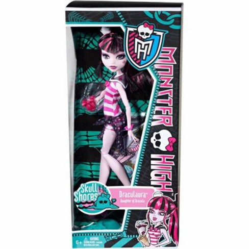 Monster High Skull Shores Draculaura 10.5-Inch Doll - image 1 of 4