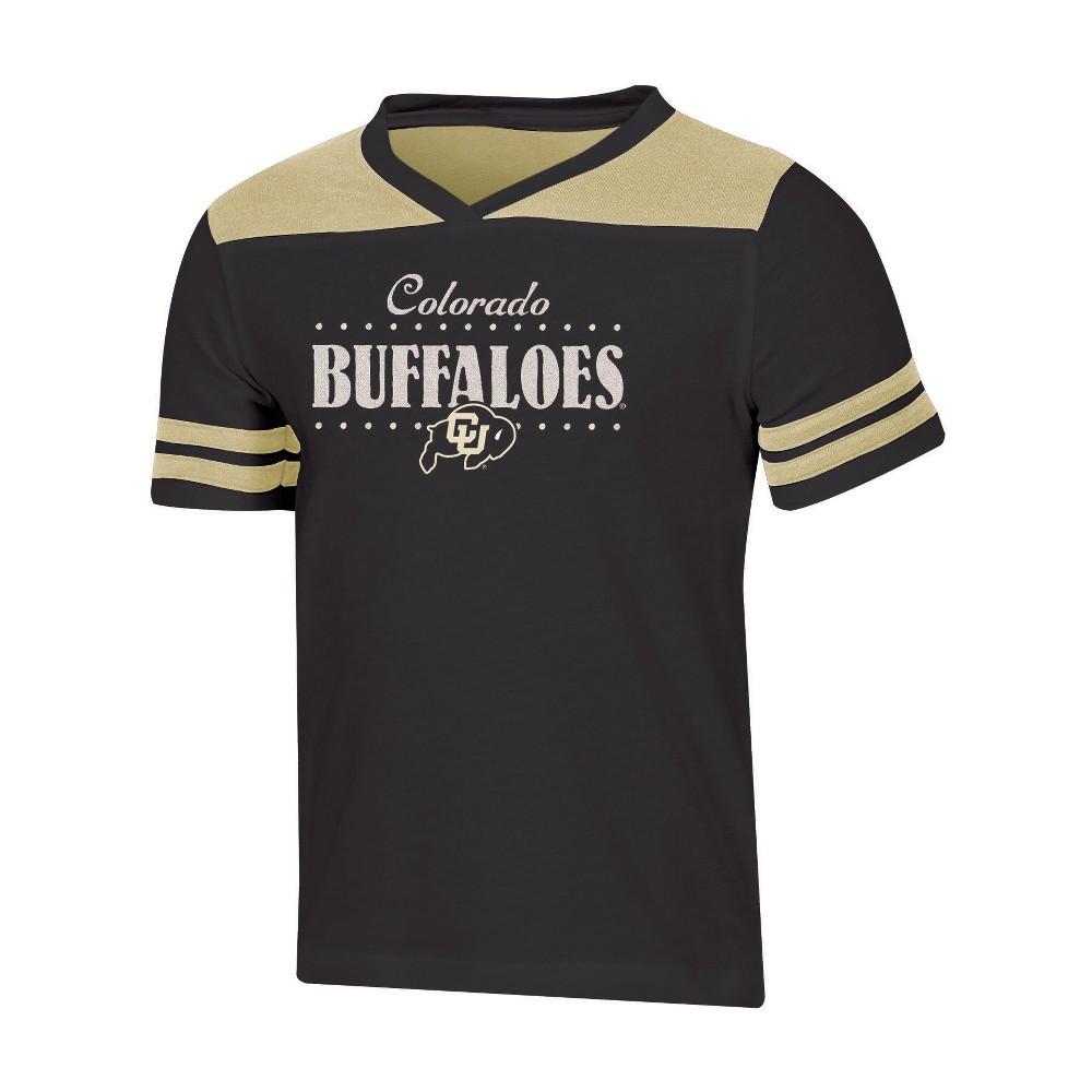 NCAA Girls' Heather Fashion T-Shirt Colorado Buffaloes - M, Multicolored