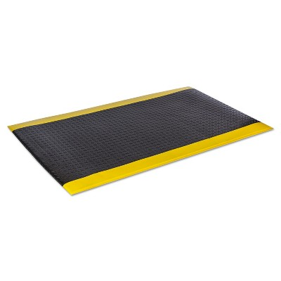 2'x3' Rectangle Solid Floor Mat Multicolored - Crown