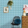 Bouton Soliere Peel & Stick Wallpaper Blue - Opalhouse™ - image 4 of 4