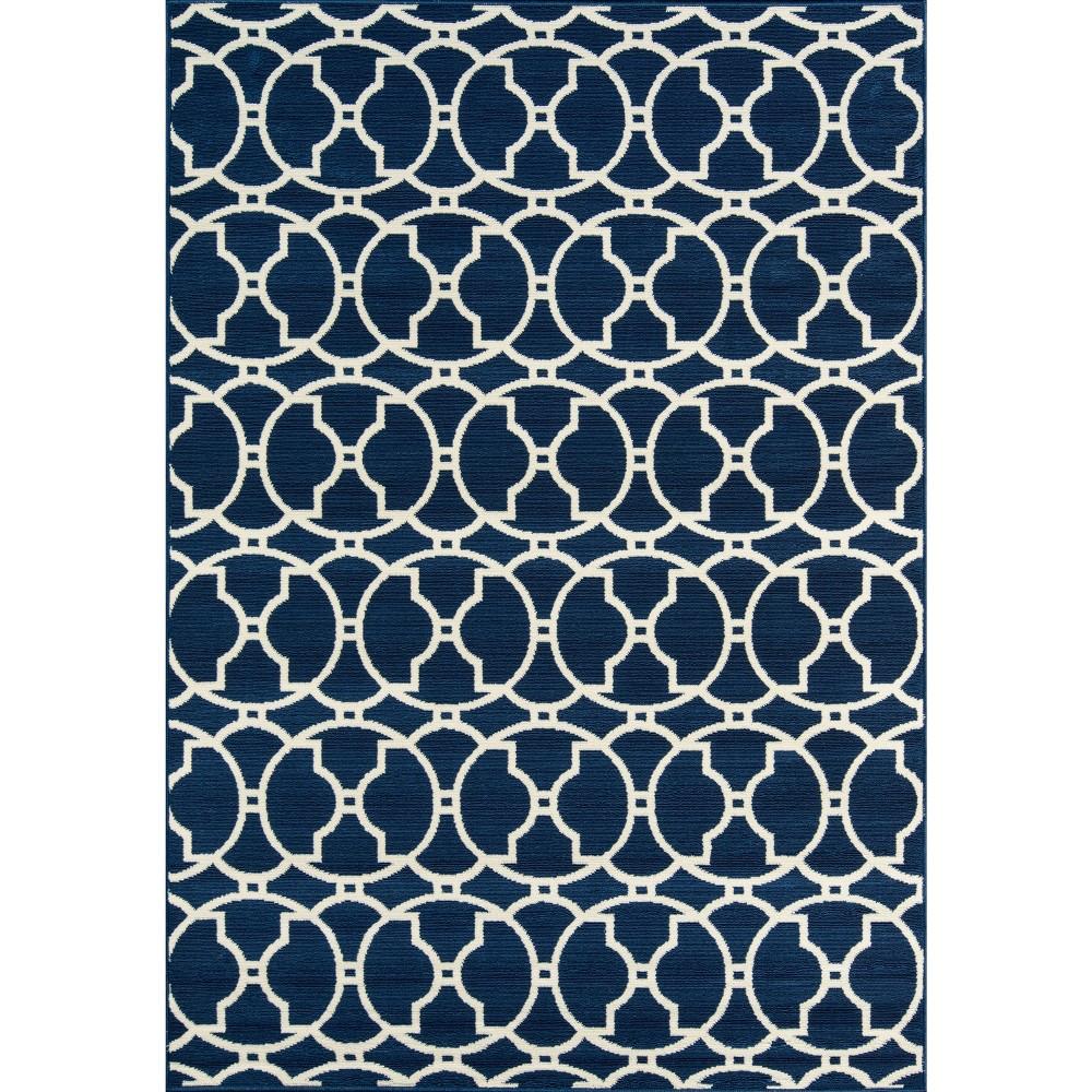 Navy (Blue) Indoor/Outdoor Calypso Area Rug 7'10