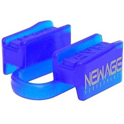 New Age Performance 6DS Sports And Fitness Weight-Lifting Mouthpiece, Lower Jaw, No-Contact, Includes Case