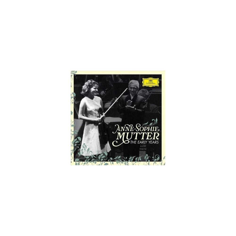 Anne Sophie Mutter Berliner Philharmoniker Herbert Von Karajan Anne Sophie Mutter The Early Years 3 Cd Blu Ray Audio