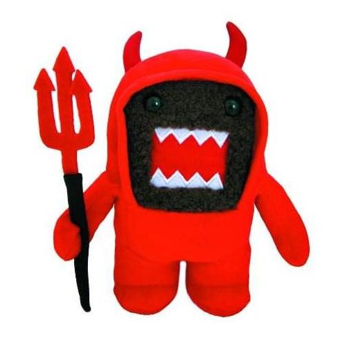 """Domo 6"""" Plush: Devil Domo - image 1 of 1"""