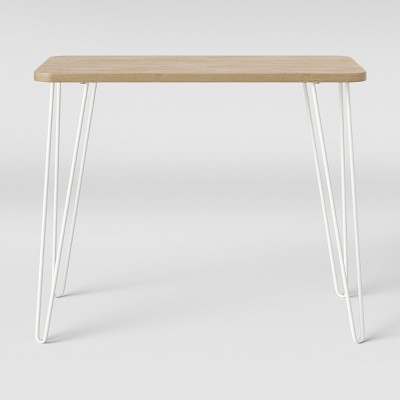 Landry Kids' Hairpin Desk Natural/White - Pillowfort™
