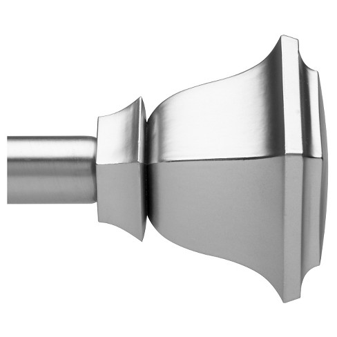 Loft By Umbra Soft Square Curtain Rod - Nickel - image 1 of 3