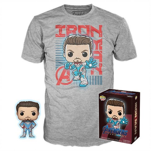 78be655a Tee Collectors Box Marvel: Avengers: Endgame - Iron Man (Target Exclusive)