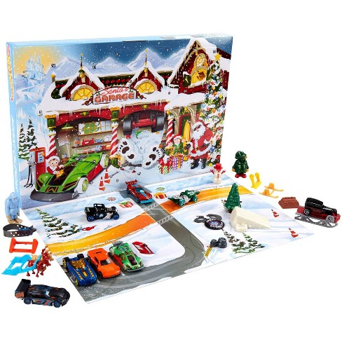 Hot Wheels Holiday Surprise Advent Calendar - image 1 of 4