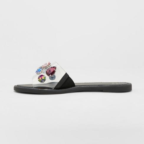 463b2506d Women s Alana Gem Slide Sandals - A New Day™   Target