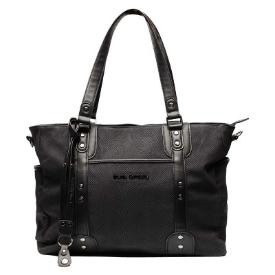 Little Company Paris Snake Diaper Bag - Black