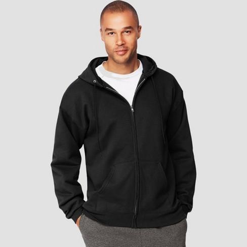 Hanes Men's Ultimate Cotton Full-Zip Hooded Sweatshirt - image 1 of 3