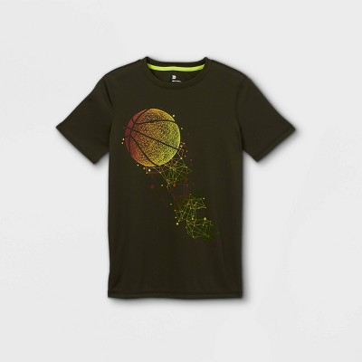 Boys' Short Sleeve Basketball Graphic T-Shirt - All in Motion™