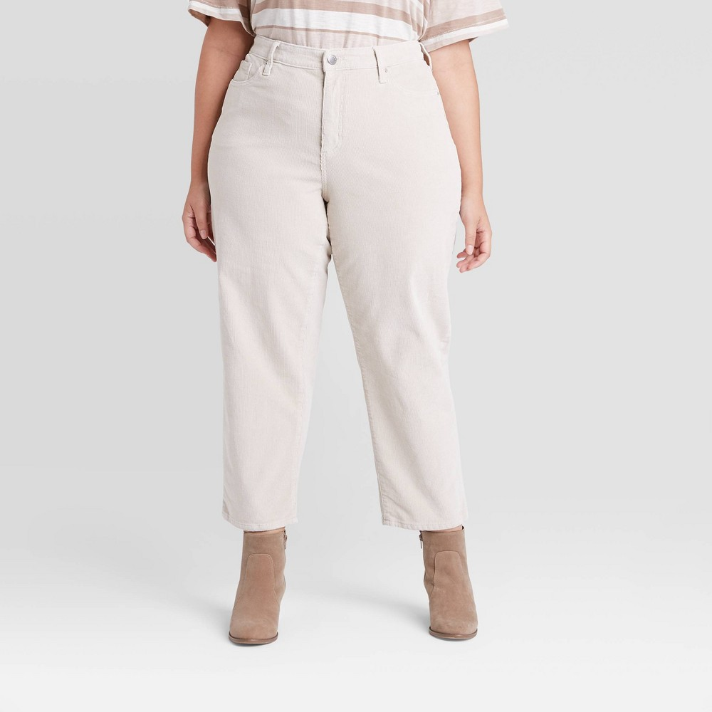 Coupons Women' High-Rie Vintage traight Cropped Jean - Univeral Thread™  24W