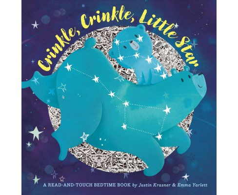 Crinkle, Crinkle, Little Star : Trace the Stars. Hear Them Crinkle. -  by Justin Krasner (Hardcover) - image 1 of 1