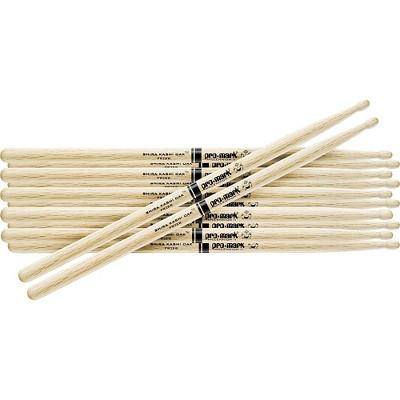 Promark 6-Pair Japanese White Oak Drumsticks Nylon 747